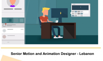 Sr. MOTION & ANIMATION DESIGNER